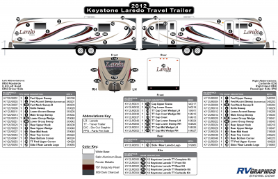 Keystone RV - Laredo - 2012 Laredo TT-Travel Trailer