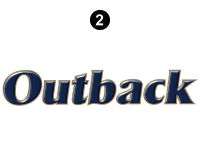 Outback - 2012 Outback TT-Travel Trailer - Side and Rear Outback Logo