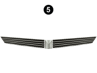 Front Cap Grill Assembly