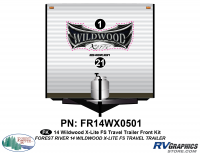 Wildwood X-Lite - 2014 Wildwood X-Lite FS Edition TT-Travel Trailer - 2014 Wildwood X-Lite FS Edition TT Front Graphics Kit