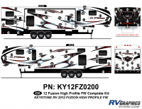 Fuzion - 2012 Fuzion FW-Fifth Wheel HP (High Profile) - 2012 Fuzion FW HP Complete Kit
