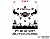 Fuzion - 2012 Fuzion FW-Fifth Wheel HP (High Profile) - 2012 Fuzion FW HP Rear Kit