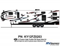 Fuzion - 2012 Fuzion FW-Fifth Wheel HP (High Profile) - 2012 Fuzion FW HP Roadside Kit