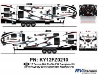 Fuzion - 2012 Fuzion FW-Fifth Wheel MP (MId Profile) - 2012 Fuzion FW MP Complete Kit