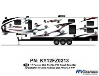 Fuzion - 2012 Fuzion FW-Fifth Wheel MP (MId Profile) - 2012 Fuzion FW MP Roadside Kit