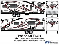 Fuzion - 2013 Fuzion TT-Travel Trailer - 2013 Fuzion TT (Travel Trailer) Complete Graphics Kit