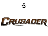 Crusader - 2013 Crusader FW-Fifth Wheel Touring Edition - Side / Rear Crusader Logo