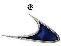Shadow Cruiser - 2014 Shadow Cruiser TT-Travel Trailer - Mid Lower Fender Hook-C/S (Curbside) RH / PS