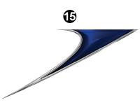 Shadow Cruiser - 2014 Shadow Cruiser TT-Travel Trailer - Rear Upper Wedge-R/S (Roadside) LH / DS