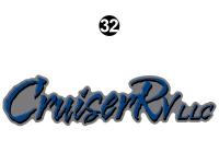 Shadow Cruiser - 2014 Shadow Cruiser TT-Travel Trailer - Rear Cruiser RV Logo