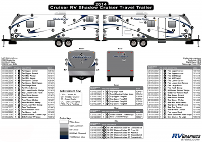 Cruiser RV - Shadow Cruiser - 2014 Shadow Cruiser TT-Travel Trailer