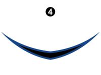 Blaze'n - 2015 Blaze'n FW-Fifth Wheel Blue Version - Cap Badge (Front D/C#2)