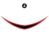 Blaze'n - 2015 Blaze'n FW-Fifth Wheel Red Version - Cap Badge (Front D/C#2)