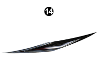 Raptor - 2013 Raptor Velocity FW-Fifth Wheel - Mid Lower Large Wedge