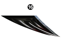 Raptor - 2013 Raptor Velocity FW-Fifth Wheel - Rear Top Large Wedge