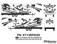 Raptor - 2013 Raptor SE FW-Fifth Wheel - 55 Piece 2013 Raptor SE FW Complete Graphics Kit