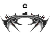 Raptor - 2013 Raptor SE FW-Fifth Wheel - Front/Rear SE Shield