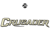 Crusader - 2015 Crusader Lite FW-Fifth Wheel - Front Crusader Logo