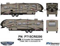 Crusader - 2015 Crusader FW-Fifth Wheel - 48 Piece 2015 Crusader FW Complete Graphics Kit