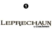 Leprechaun - 2017 Leprechaun MH-Motorhome Tan Cab - Leprechaun Logo