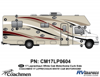 Leprechaun - 2016-2017 Leprechaun MH-Motorhome White Cab - 19 piece 2016 (Late) Leprechaun White Cab Curbside Kit