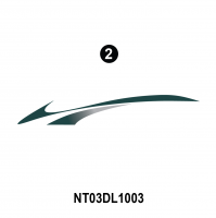 Dolphin - 2003 Dolphin Teal Version - Rear Assembly