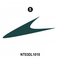 Dolphin - 2003 Dolphin Teal Version - Side Lower Hook