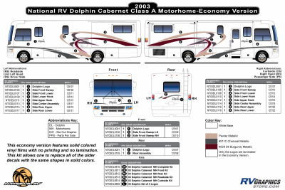 National RV - Dolphin - 2003 Dolphin Cabernet Economy Version