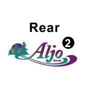 Aljo - 2000 Aljo TT-Metal Trailer - Rear Aljo logo