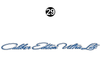 North Trail - 2013 North Trail Caliber Edition TT-Travel Trailer - Front Caliber Edition Logo