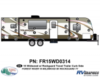 21 Piece 2015 Wildwood TT  Curbside Graphics Kit
