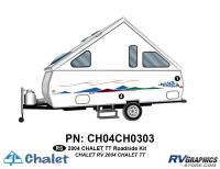 2 Piece 2004 Chalet TT Roadside Graphics Kit