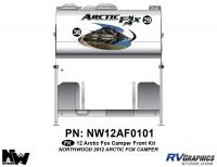 Arctic Fox - 2012 Arctic Fox Camper - 2012 Arctic Fox Camper Front Kit