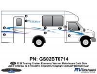 B Touring Cruiser - 2002 Motorhome-Economy OEM Version - 2002 B Touring Cruiser Curbside Kit Economy OEM Colors