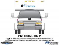 B Touring Cruiser - 2002 Motorhome-Economy OEM Version - 2002 B Touring Cruiser Front Kit Economy OEM Colors