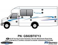 B Touring Cruiser - 2002 Motorhome-Economy OEM Version - 2002 B Touring Cruiser Roadside Kit Economy OEM Colors
