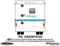 - 2002 B Touring Cruiser Rear Kit Premium Controltac Colors