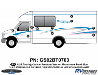 - 2002 B Touring Cruiser Roadside Kit Premium Controltac Colors