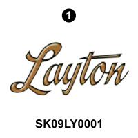 Layton - 2009 Layton Joey TT-Travel Trailer - Layton Logo