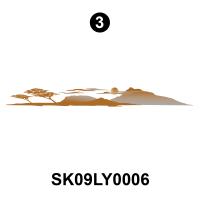 Layton - 2009 Layton Joey TT-Travel Trailer - Side Desert Scene