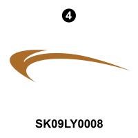 Layton - 2009 Layton Joey TT-Travel Trailer - Side Upper Rear Diecut
