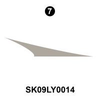 Layton - 2010-2011 Layton Joey TT-Travel Trailer - Side Lower Front Diecut