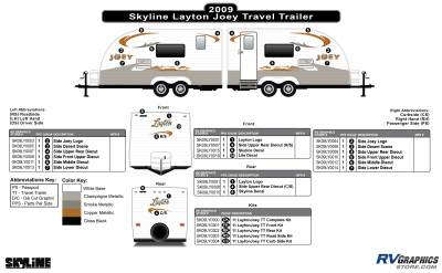 Skyline RV - Layton - 2009 Layton Joey TT-Travel Trailer