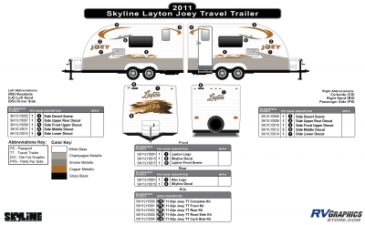Skyline RV - Layton - 2010-2011 Layton Joey TT-Travel Trailer