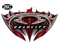 Raptor - 2011 Raptor Velocity FW - Front Badge Bottom DC