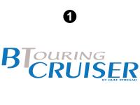 B Touring Cruiser - 2002 Motorhome-Economy OEM Version - Small B Touring Logo