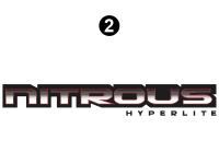 Nitrous - 2008 Nitrous Travel Trailer Toyhauler - Nitrous Hyperlite Logo