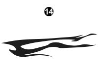 Nitrous - 2007 Nitrous Fifth Wheel Toyhauler - Fwd Lower Black D/C