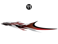 Fuzion - 2007 to 2009 Fuzion FW-Fifth Wheel - Side Mid Upper Graphic