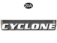 Cyclone - 2012 Cyclone FW-Fifth Wheel Toyhauler-Copper - Front Cyclone Legend